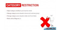 Restriction category extension 2 magento
