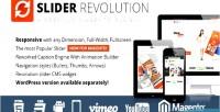 Revolution slider extension magento responsive