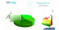 Sales geographical magento in report