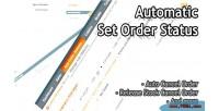 Set automatic order status