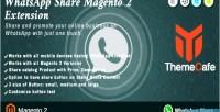 Share whatsapp extension 2 magento