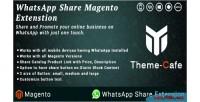 Share whatsapp magento extension