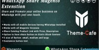 Share whatsapp magento extension