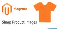 Sharp magento product images