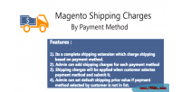 Shipping magento payment by charges