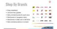 Shop magento by brands