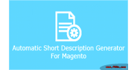 Short automatic description magento for generator