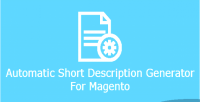 Short automatic description magento for generator