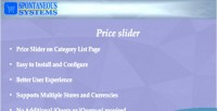 Slider price magento2 extension