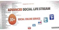 Social advanced life extension magento stream