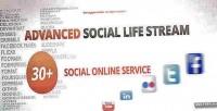 Social advanced life extension magento stream