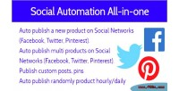 Social automation all in extension magento one