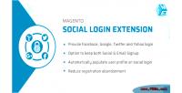 Social magento login facebook extension yahoo gmail twitter