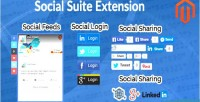 Social magento suite extension