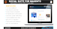 Suite social for magento