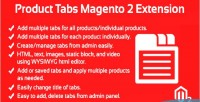 Tabs product extension 2 magento