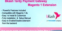 Tardy bkash payment extension magento1 gateway