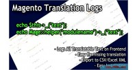 Translation magento logs