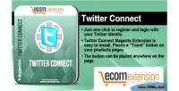 Twitter magento connect extension