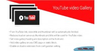 Video youtube extension magento2 gallery