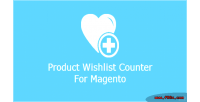 Wishlist product magento for counter
