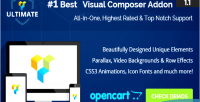 Addons ultimate for composer visual opencart