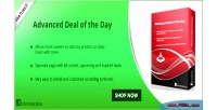 Advanced opencart deal day the of