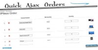 Ajax quick orders