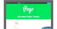 Animated pogo slider creator