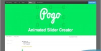 Animated pogo slider creator