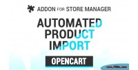 Automated opencart product import