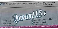 Avenue cc payment opencart for module