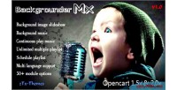 Backgrounder mx pro all in one solution slideshow music