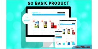 Basic so products module opencart responsive