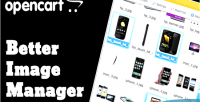 Better opencart image manager