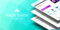Builder visual for opencart