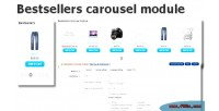 Carousel bestsellers opencart for module