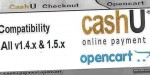 Cashu opencart payment extensions
