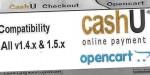 Cashu opencart payment extensions