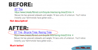 Category name in your tag title product category