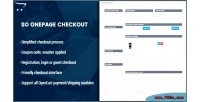 Checkout onepage creative page one module opencart checkout