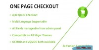 Checkout onepage quick checkout