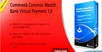 Commonwealth opencart bank payment