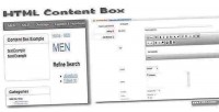Content html opencart for box