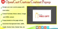 Content popup at product opencart for page content
