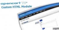 Custom add html module