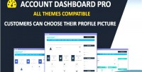 Dashboard account pro