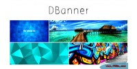 Dbanner panel with editable banners of size
