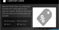 Deals opencart