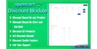 Discount opencart module